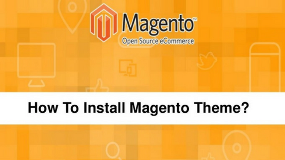 How to install a Magento theme or template