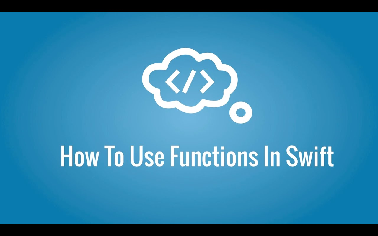 Swift – Functions